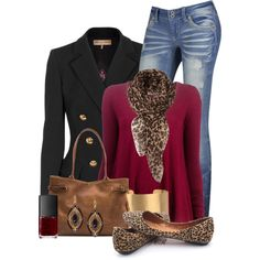 A fashion look from September 2014 featuring American Vintage sweaters, Emilio Pucci blazers and Meckela shoulder bags. Browse and shop related looks.