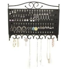 US Acrylic Foldable Acrylic Jewelry Screen holds up to 120 pairs
