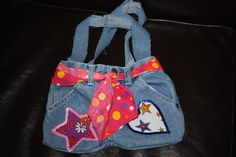 Upcycled jean bag