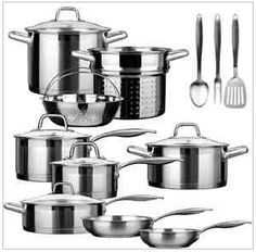 duxtop professional stainless-steel 17-piece induction ready cookware set review