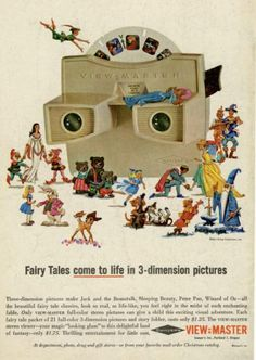 Toys Of The 50s 60s And 70s Doll View Master
