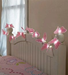 hearthsong butterfly string lights with fiber optic magic 160 inch