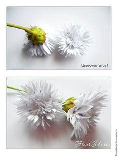 Создаем Василёк из фоамирана - Ярмарка Мастеров - ручная работа, handmade