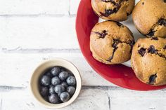 Clean eating blueberry muffins recipe 2