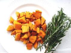 The Perfect Simple Side Dish! Sautéed Sweet Potatoes with Fresh Rosemary!