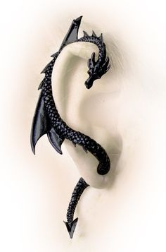 Dragon rap around Earring. Its like a pet! though a little creepy how the tail is through your ear...