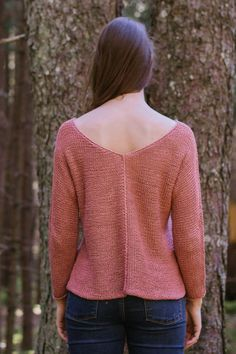 aislyn pullover by dawn catanzaro / in quince & co. kestrel, color sand