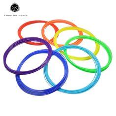 20rolls/lot 10M 3D Printer PLA/ABS Filament samples 1.75mm 20 colours MakerBot/RepRap/UP/Mendel/3D Pen