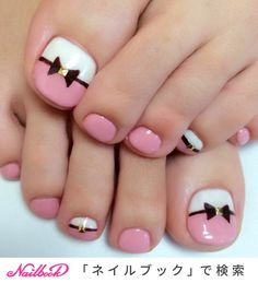 Semi-permanent varnish, false nails, patches: which manicure to choose? - My Nails Simple Toe Nails, Pretty Toe Nails, Cute Toe Nails, Fancy Nails, My Nails, Pink Toe Nails, Grow Nails, Cute Toes, White Nails