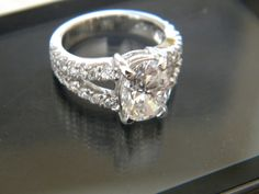 Hey, I found this really awesome Etsy listing at https://www.etsy.com/listing/198566753/361ct-f-vs2-oval-diamond-engagement-ring