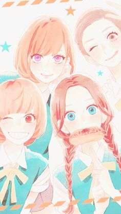 Hirunaka no Ryuusei, Daytime Shooting Star Manga Girl, Manga Anime, Anime Art, Anime Love Triangle, Otaku, Daytime Shooting Star, Tsubaki Chou Lonely Planet, Hirunaka No Ryuusei, Kawaii Anime Girl