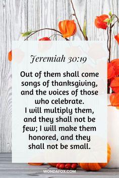 21 Thanksgiving Bible Verses With Images - Wondafox