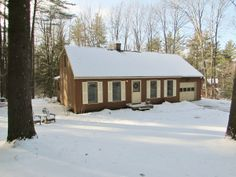 Enjoy the peace and quiet of this country cape, nestled amongst the pine trees on a acre lot in the desirable Hidden Pines neighborhood. Breakfast Bar Kitchen, Thing 1, Open Up, Vermont, Acre, The Neighbourhood, Floor Plans, Trees, Real Estate