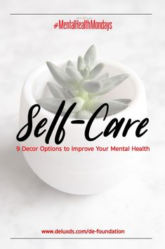 – Nine Home Decor Options to Improve Your Mental Health Mental Health Advocacy, Mental Health Matters, Mental Health Awareness, Anxiety Self Help, Coping Skills, Improve Yourself, Wellness, Black, Black People