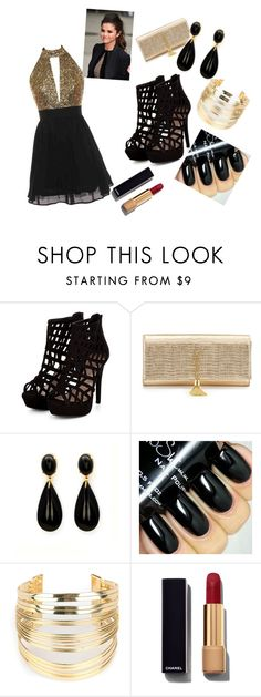 """""""if you just  want to look  attractive"""" by alejashey ❤ liked on Polyvore featuring Yves Saint Laurent, WithChic and Chanel"""