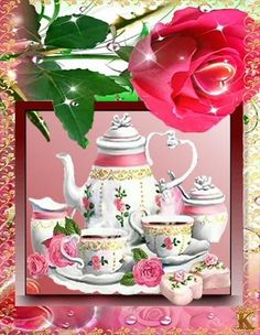 Good Morning Coffee Images, Good Morning Cards, Good Morning Gif, Good Morning Greetings, Good Morning Beautiful Flowers, Beautiful Rose Flowers, Beautiful Gif, Good Night Cat, Happy Sunday Images