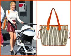 Kristin Cavallari with a Mia Bossi diaper bag