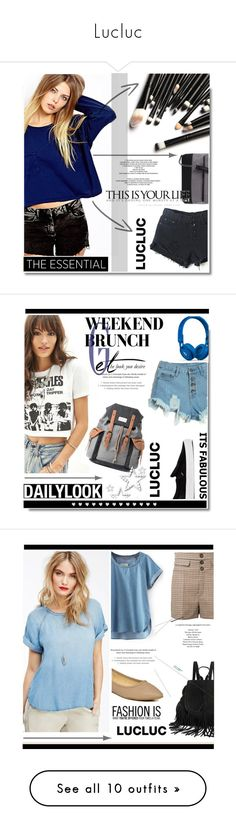 """""""Lucluc"""" by soks ❤ liked on Polyvore featuring WithChic, 7 Chi, StyleNanda, lucluc, Retrò, Mr.ace Homme, Vans, Beats by Dr. Dre, Chloé and yeswalker"""