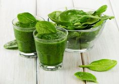 Grüne Smoothies Rezepte Spinat