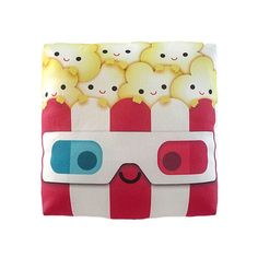Popcorn 3D pillow – The cute way for getting you in the mood to start the next movies night.