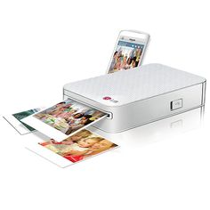 Pocket Photo™ Mobile Printer Wireless printing from your smartphone or tablet—without a computer! Wireless, inkless, effortless printing when you're on the go.