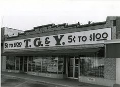 Does anyone remember shopping at T.G. & Y?