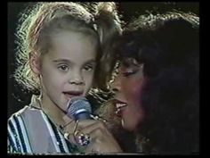 "Donna Summer was an incredible singer. This little known song she performed at the UN for ""The Gift of Song"" to benefit UNICEF was written for her daughter and titled ""Mimi."" Listen to this beautiful voice. Starts at 1:40."