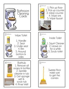 Chore Cards {Chore Flip Charts} - for kids and husbands!! lol I love this. Can what to try it out by degood