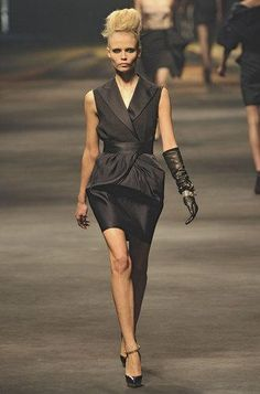 Défilé Lanvin Printemps-été 2010 Prêt-à-porter - Madame Figaro