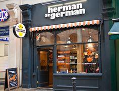 Herman ze German,19 Villiers St. London WC2N 6HY.