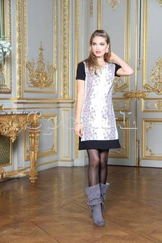Robe imprimée silver Nana Baila sur cpourl.fr #cpourl Glamour, Shirt Dress, T Shirt, Dresses, Fashion, Printed Dresses, Dress Skirt, Fashion Ideas, Trendy Outfits