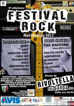 Festival Rock Noi Musica a Rivoltella del Garda  http://www.panesalamina.com/2017/56898-festival-rock-noi-musica-a-rivoltella-del-garda.html