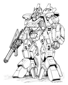 REF MBR-12 Mk.XII Valiant Destroid by ChuckWalton on DeviantArt