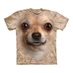 Chihuahua Face Tee now featured on Fab.