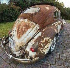 Vw Rat Rod, Rat Rods, Audi Gt, Vw Pickup, Old Scool, Vw Fox, Vw Vintage, Vw Cars, Car Painting