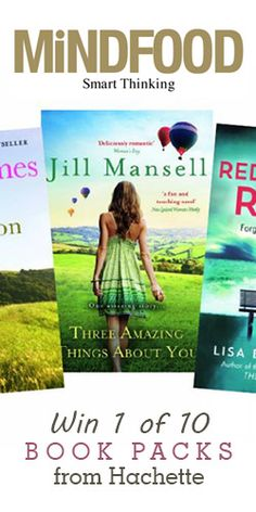 #RePin to #Win 1 of 10 #Book Packs from Hachette! #competition
