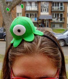 Felt Brain Slug (with pattern / templates!)