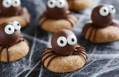 Peanut+Butter+Spider+Cookies