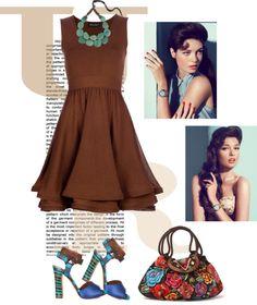 """Dress by ANTONINO VALENTI"" by fashionmonkey1 ❤ liked on Polyvore"