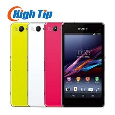 """Sony Xperia Z1 Compact original unlocked  GSM 3G&4G Android Quad-Core Z1 mini 4.3"""" 20.7MP WIFI 16GB rom D5503 Refurbished phone"""