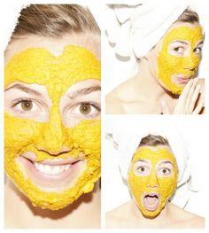 DIY: turmeric face mask