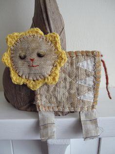 Scrappy Lion by Georgina Ferrans