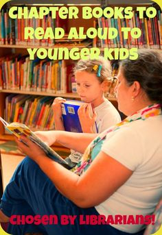 Looking for great books to read aloud to your 4-7 year old? Here's a list compiled by Childrens Librarians (who know about these things, you know...)!