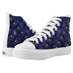 Shop Blue Police Box High Tops created by BlueRose_Design. Police Box, Customized Girl, Personal Shopping, Custom Sneakers, Sports Shoes, On Shoes, High Tops, Athletic Shoes, High Top Sneakers