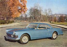 1957 Alfa Romeo 2000 Coupe Speciale 'Sestriere' (Pininfarina)