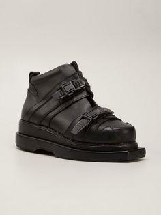 KTZ - Platform Boots - SHO-M-03 BLACK/BLACK - H. Lorenzo