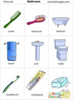 Partes de la casa: baño