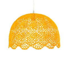 Goa Hanging Lamp XL Yellow now featured on Fab.
