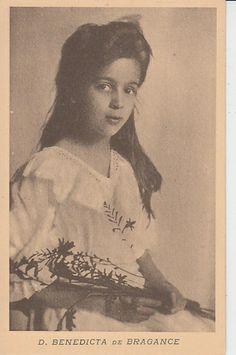 Princesa Maria Benedita de Bragança (1896-1971) filha de Miguel II, duque de Bragança e de la princesse Marie-Thérèse de Löwenstein.