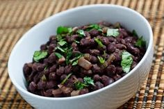 Chipotle Mexican Grill Copycat Recipes: Chipotle Black Beans used these seasonings in my tootless crockpot bean recipe. subbed lime juice for sherry and did extra garlic. cooking now, hope they turn out! Side Dish Recipes, Veggie Recipes, Mexican Food Recipes, Dog Food Recipes, Vegetarian Recipes, Side Dishes, Fondue Recipes, Mexican Dishes, Healthy Recipes